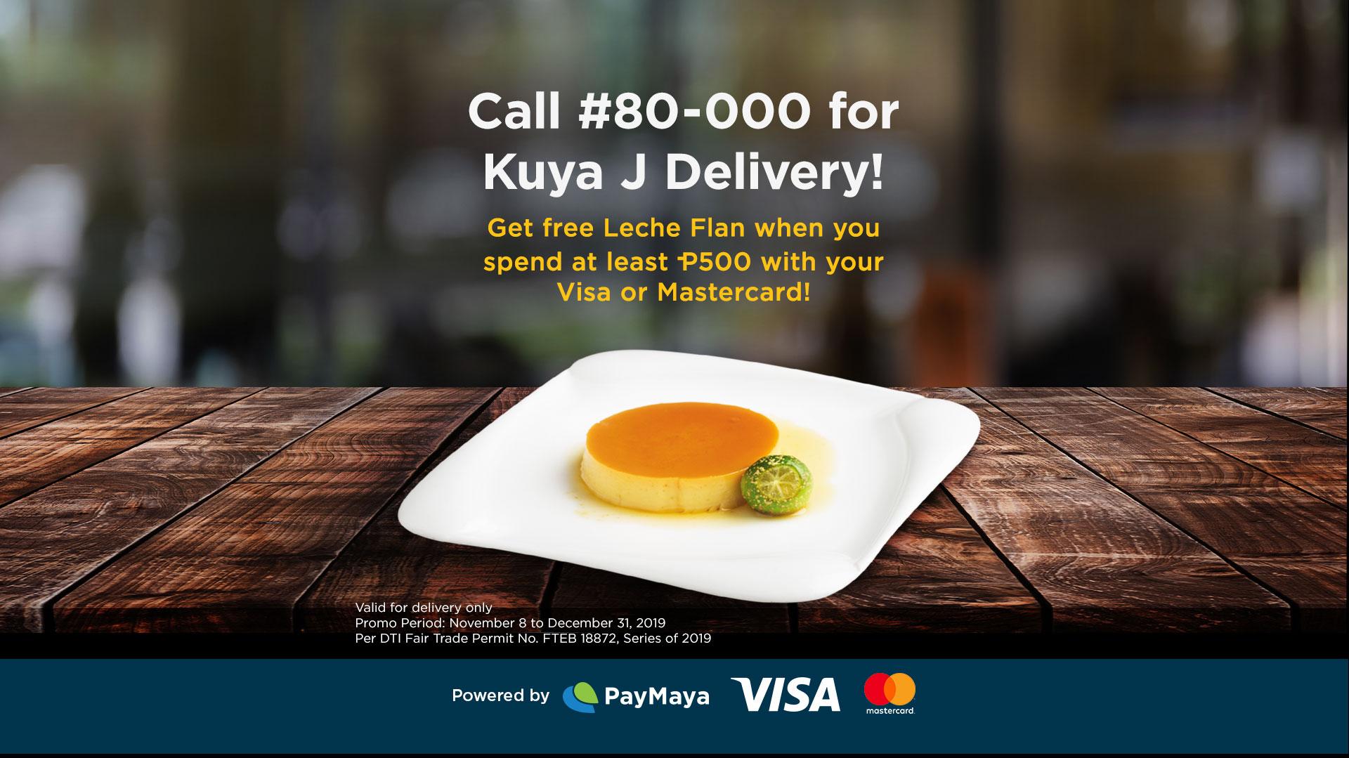 Kuya J Delivery